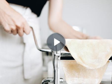 Como Fazer Massa Fresca Caseira de espelta integral