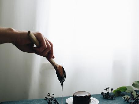 Bolos de Chocolate Negro Paleo para o Dia dos Namorados e Canon Irista