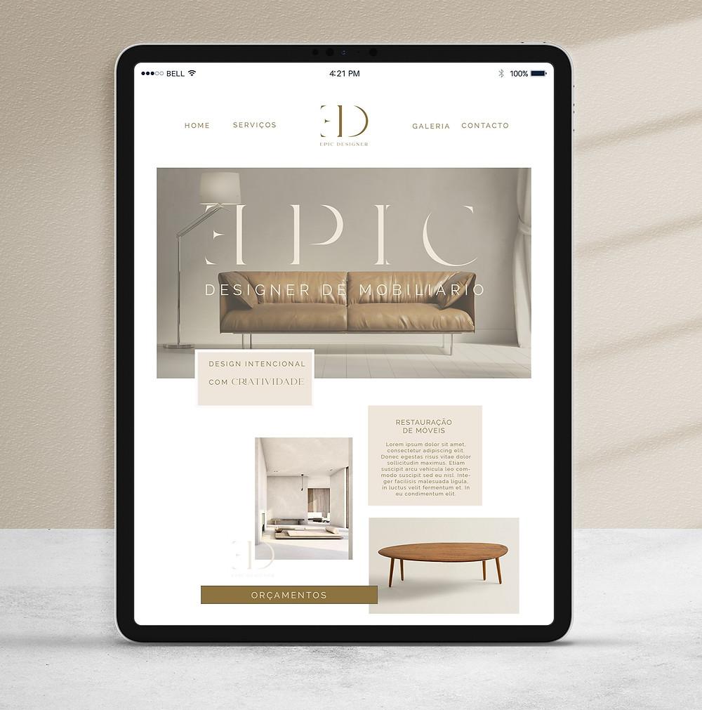 Website Design Moderno