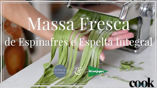 Massa fresca de Espinafres