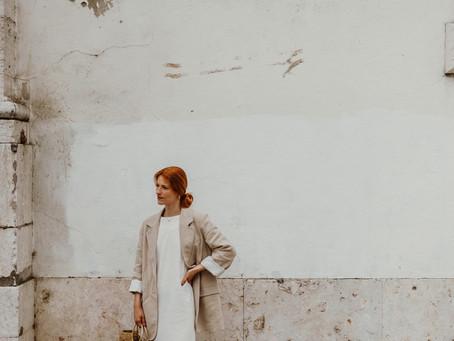 Um Vestido e um Blazer de Linho e o que Significa Chegar aos 36