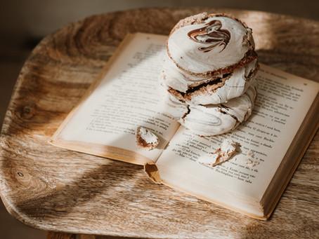 Bolachas de Merengue com Swirl de Chocolate