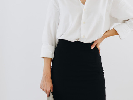 Estilo Minimalista - A Camisa Branca e 3 formas diferentes de usar