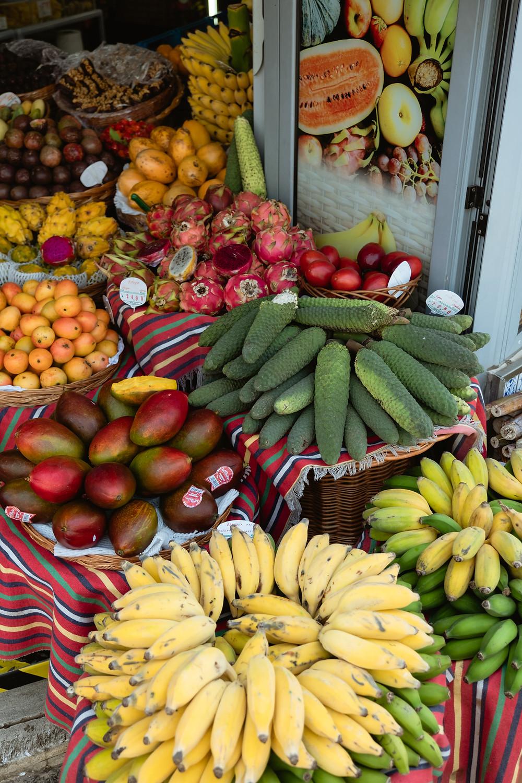 Fruta tropical Madeira