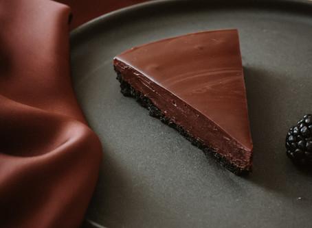Tarte de Chocolate Fudge e 4 benefícios do Cacau