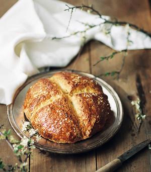 Pão caseiro de Espelta