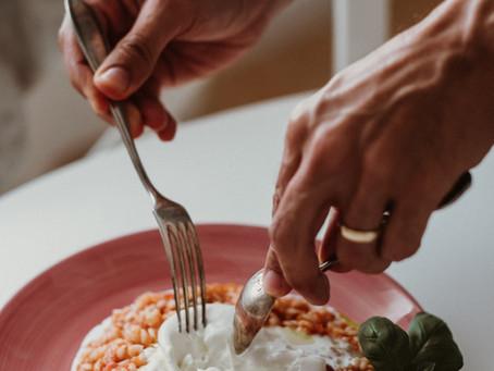 Risotto de Tomate com Burrata