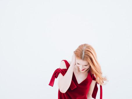 Vestido de Veludo Vermelho e os Blogs do Ano