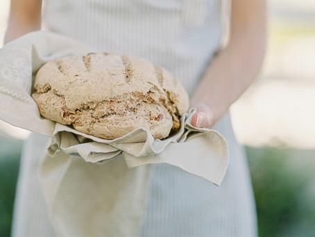 Fig & walnut spelt bread