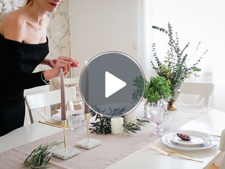 Valentines Table Inspiration video & Chocolate Spoons