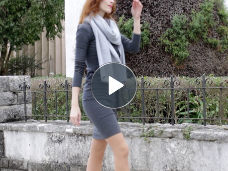Office Outfits - The Midi Dress