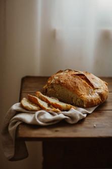 Pão Rústico Caseiro Fácil