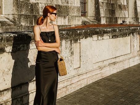 Vestido de Seda & Noites de Verão