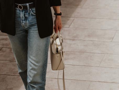 Estilo Minimalista - Blazer e Jeans