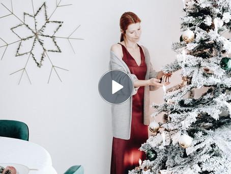 Tronco de Natal de Chocolate Negro e Avelã & Feliz Natal - Vídeo