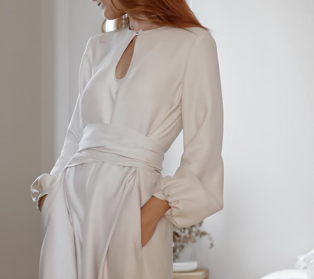 Urbana Vestido branco