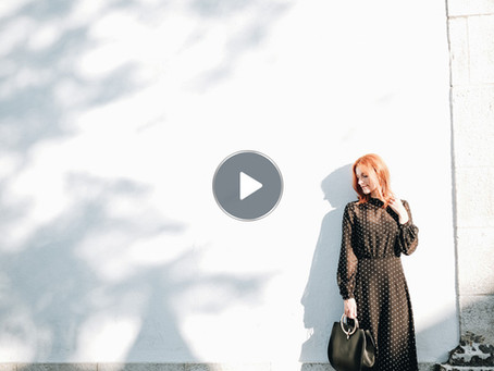 Vestido polkadot - Vídeo