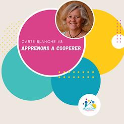 Carte Blanche : La coopération l Isabelle Pelloux