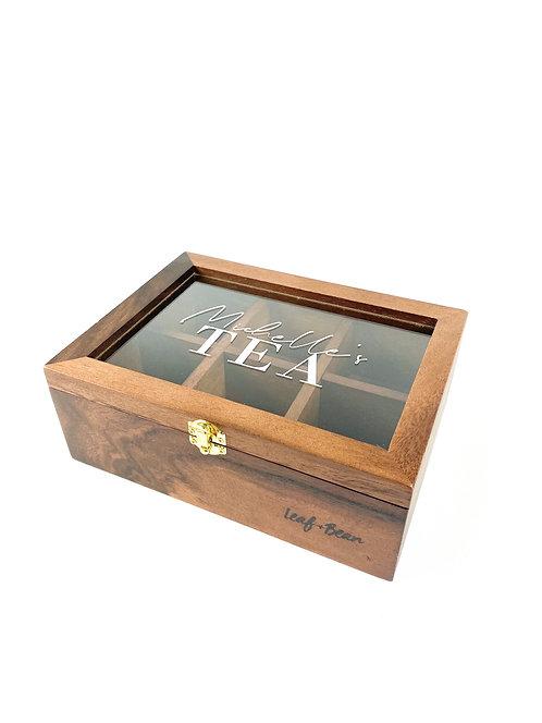 Acacia Tea Box
