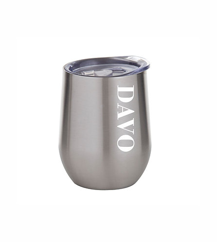 Double Wall Cool Cup Silver