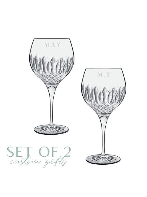Diamante Cocktail Glass Set