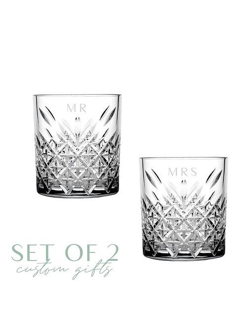 Timeless Whiskey/Cocktail Glass Set
