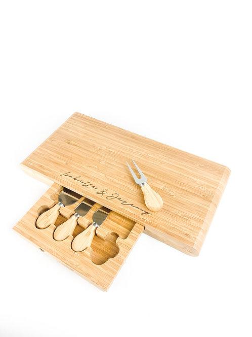 Nat Cheese Board Set