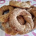 Simit (Turkish Sesame Bagels)