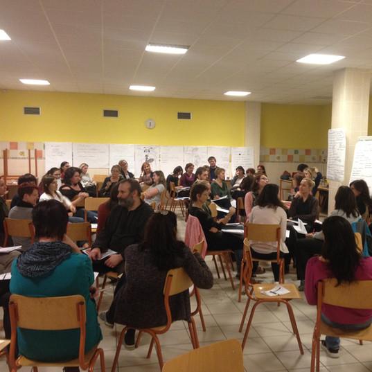 Workshop at ZŠ Horáckého nám.