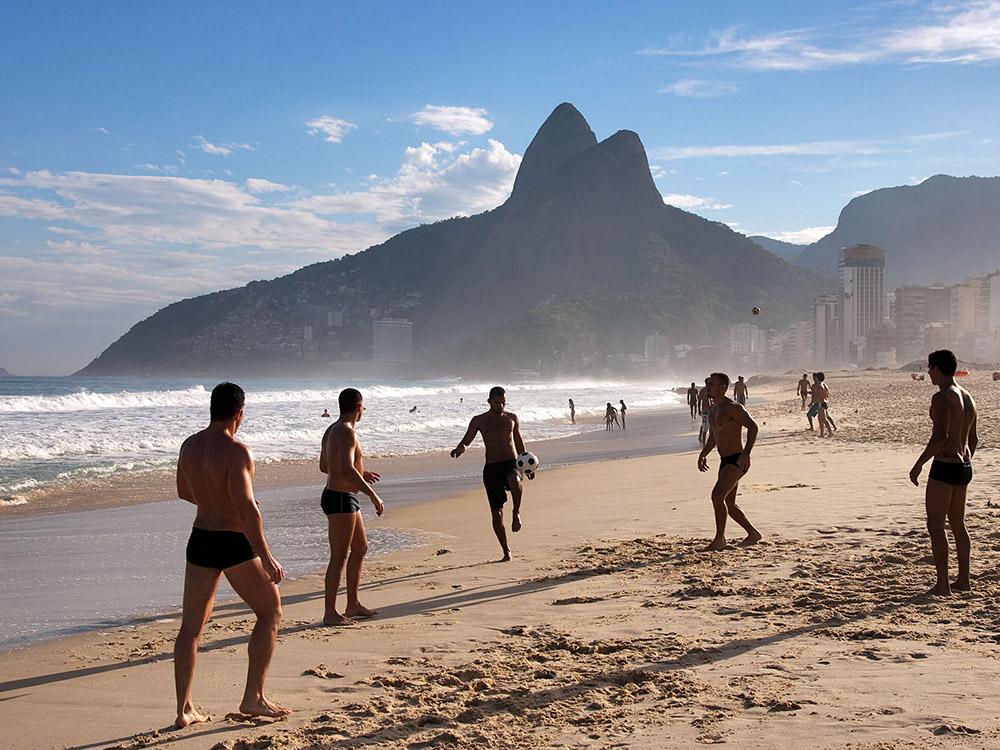 Futebol Praia de Ipanema