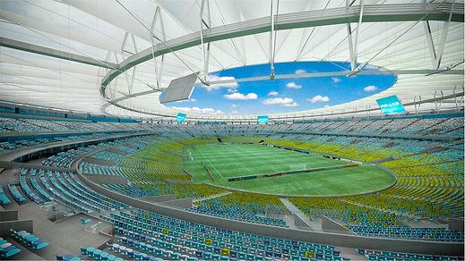 Estádio do Maracaã por dentro