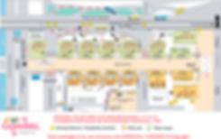 mapa do sambódromo do rio de janeiro - marquês de sapuíca