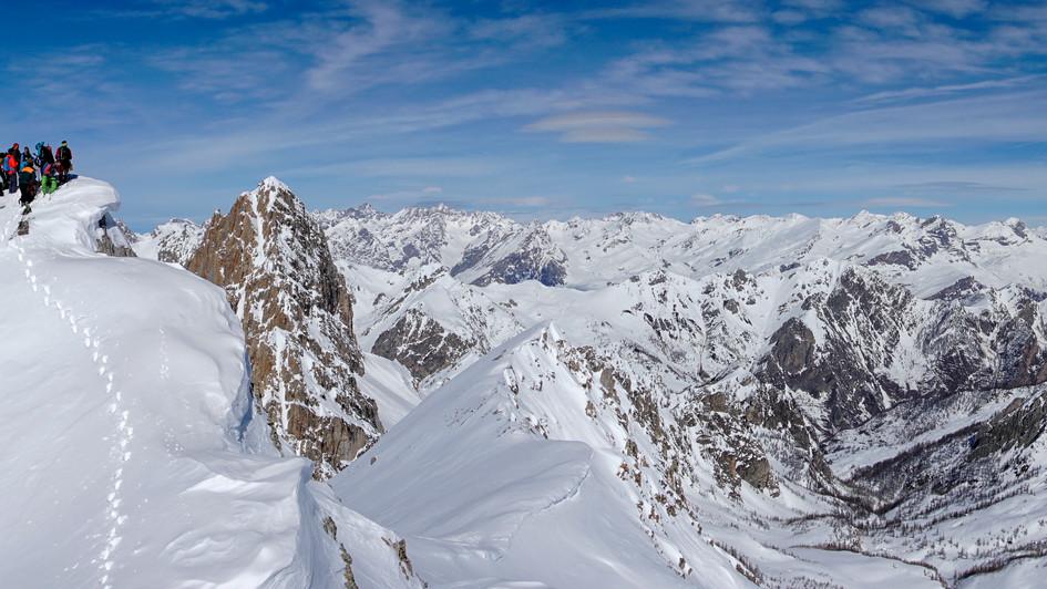 Becco Grande 2775m, Val Maira