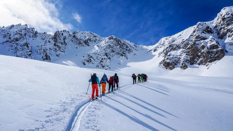 Verso il Monte Oserot 2861m, Val Maira