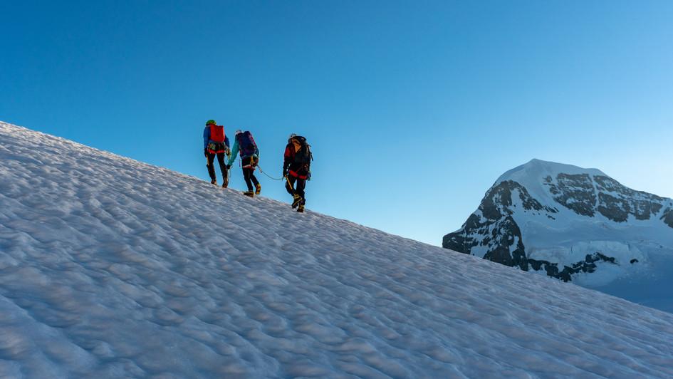 Salendo alla Jungfrau 4158 m