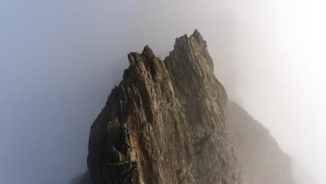 Cresta sud Pizzo Nero