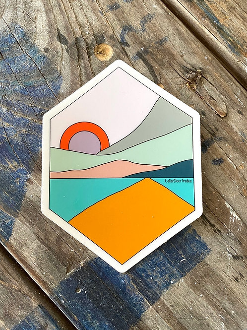 Daybreak Stickers (clear)