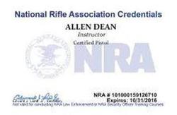 Allen Dean Cert