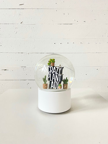 Crazy Plant Lady Globe