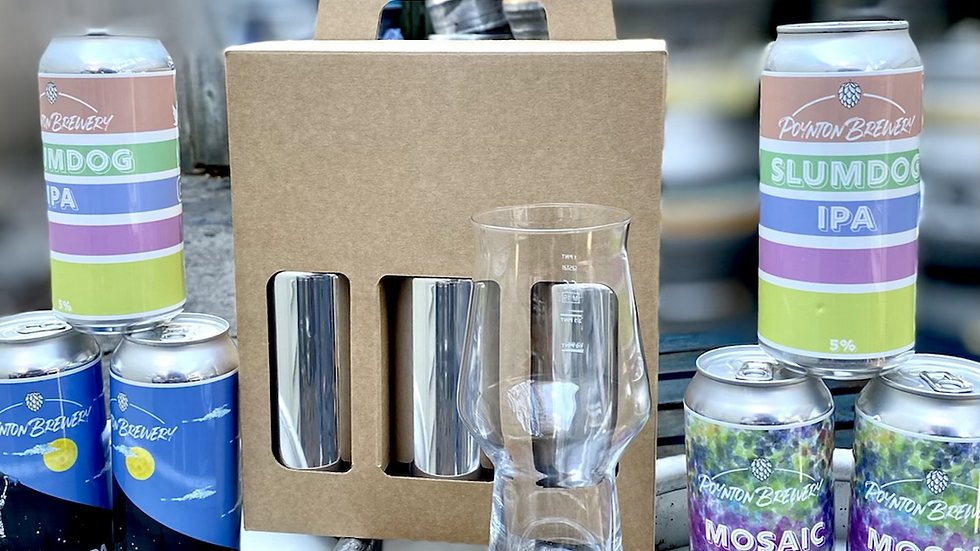 Poynton Brewery gift Pack