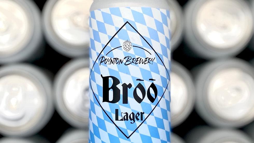 Poynton Brewery Brōō Kolsch Style lager