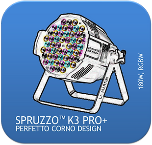 La Martini Spruzzo K3 PRO+ LED PAR CAN 1