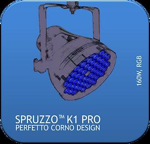 La Martini Spruzzo K1 PRO LED PAR CAN 16