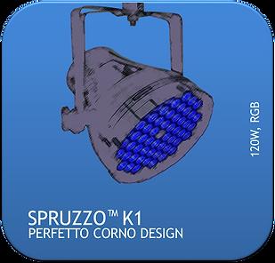 La Martini Spruzzo K1 LED PAR CAN 120 Wa