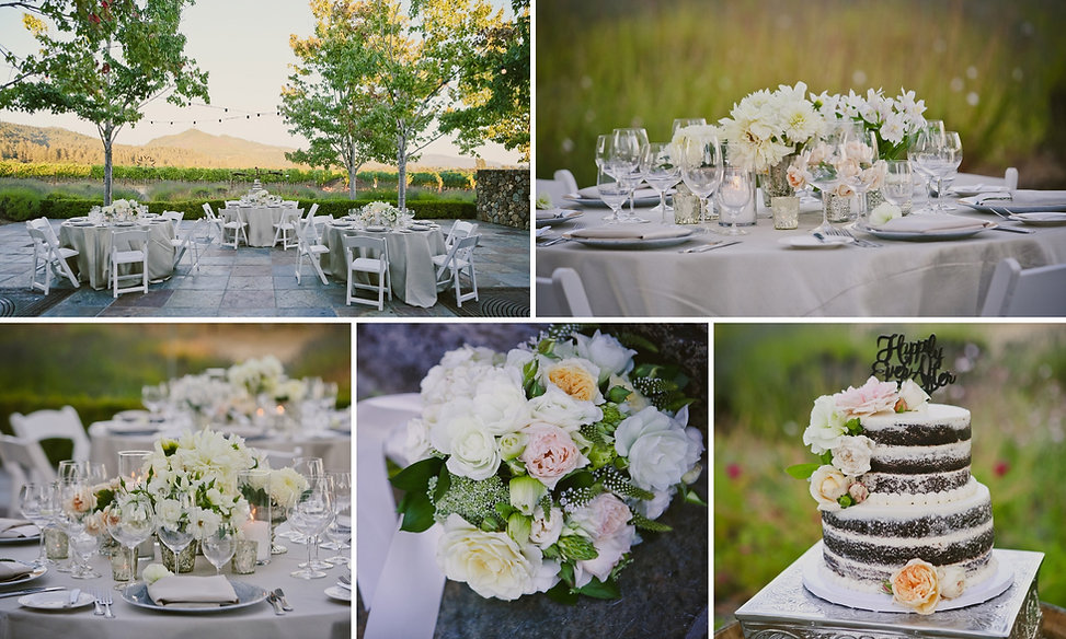 Elegant weddng in Sonoma