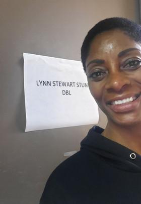 Lynn stunt double sign.jpg