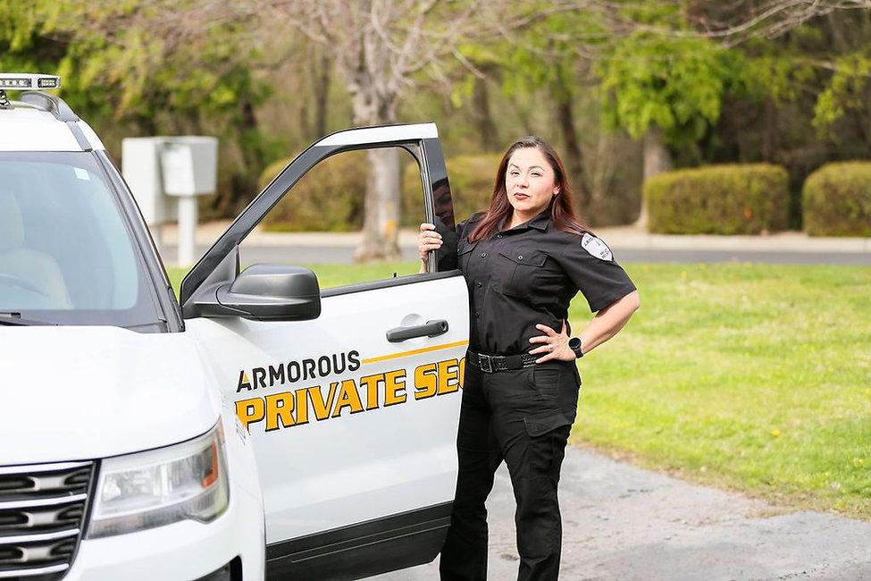 Armorous Security Vehicle Patrols