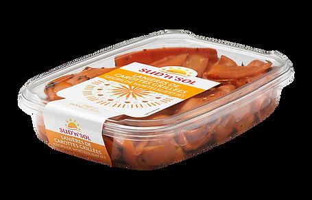 Lanières de carottes grillées Sud'n'Sol