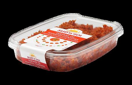 Tartare de tomates confites Sud'n'Sol