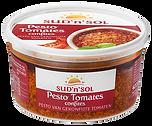 Pesto aux tomates confites